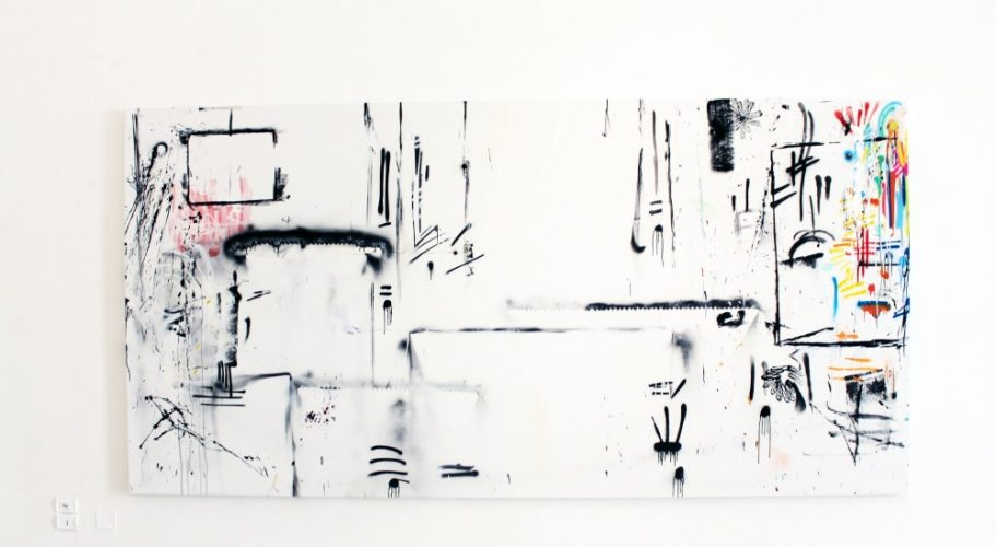 Time Lines dal 15_01_19 al 15_02_20 | mixed media | 200x400cm | 2020